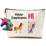 Boss Lady Gifts for Women Employee Appreciation Gifts Employee of The Month Employee Gifts Boss Gifts for Men Birthday Gifts for Boss Make Up Bag