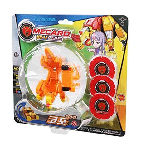 Pasha Mecard Copo Mecardimal Turning Car Vehicle Transformation Transforming Toy Action Figure