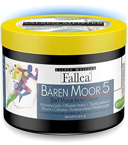 Bären Moor 5in1 Aktivgel Pferdesalbe mit Teufelskralle, Weihrauchöl, original Murmeltieröl & Moor sehr wirksam & beruhigend für Muskeln, Gelenke & Körper