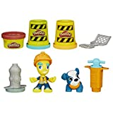Play-Doh Town Road Worker and Pup Toy by Play-Doh