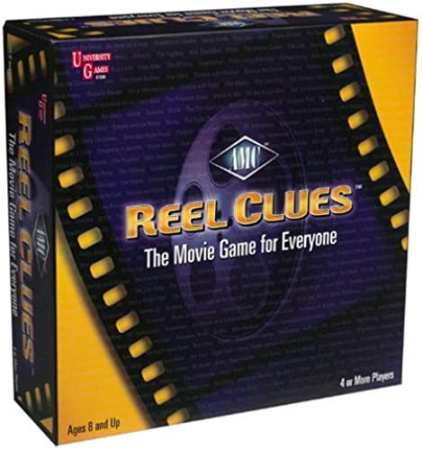 Reel Clues Board Game by University Games
