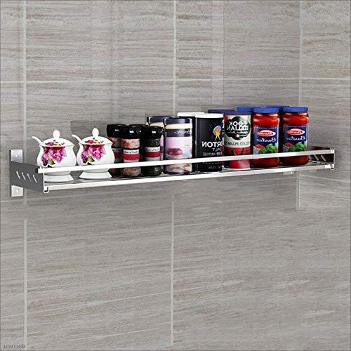 XI FA Küchenregal Wand-Gewürzregal aus Edelstahl 304 Home Multifunktions-Platzhalter Sparen Sie Platz und Laden Sie