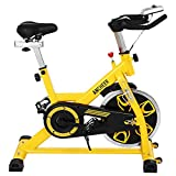 ANCHEER Indoor Cycling Bike, Belt Drive Indoor Exercise Bike...