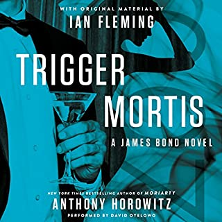 Trigger Mortis audiobook cover art