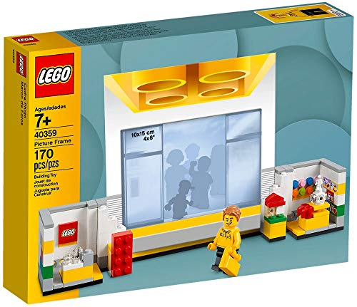 Lego Store Picture Frame - Mount And Display Your Favourite Images Store Setting!
