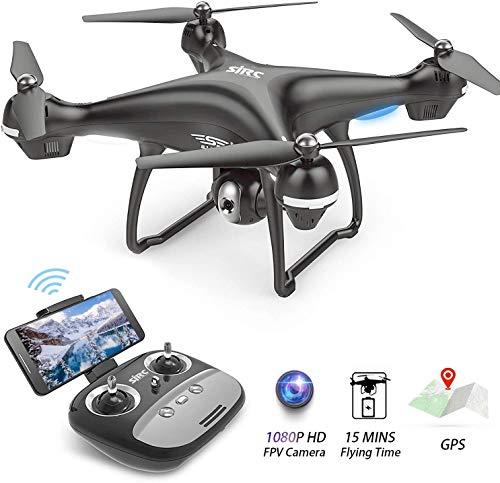 Opvouwbare drone met camera 1080P Camera FPV Drones Live video Hoogte Houd één toets vast Start/landing RC Drone Beste cadeau voor jongens en meisjes Drone voor beginners Volwassenen Kinderen