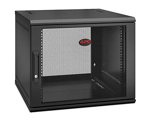 APC NetShelter WX AR109SH6 – Schrank – Wandmontage – Schwarz – 9U – 19 Zoll