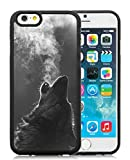 iPhone 6 Case,Winter Wolf Howling Black Case for iPhone 6S 4.7 Inches,TPU Cover