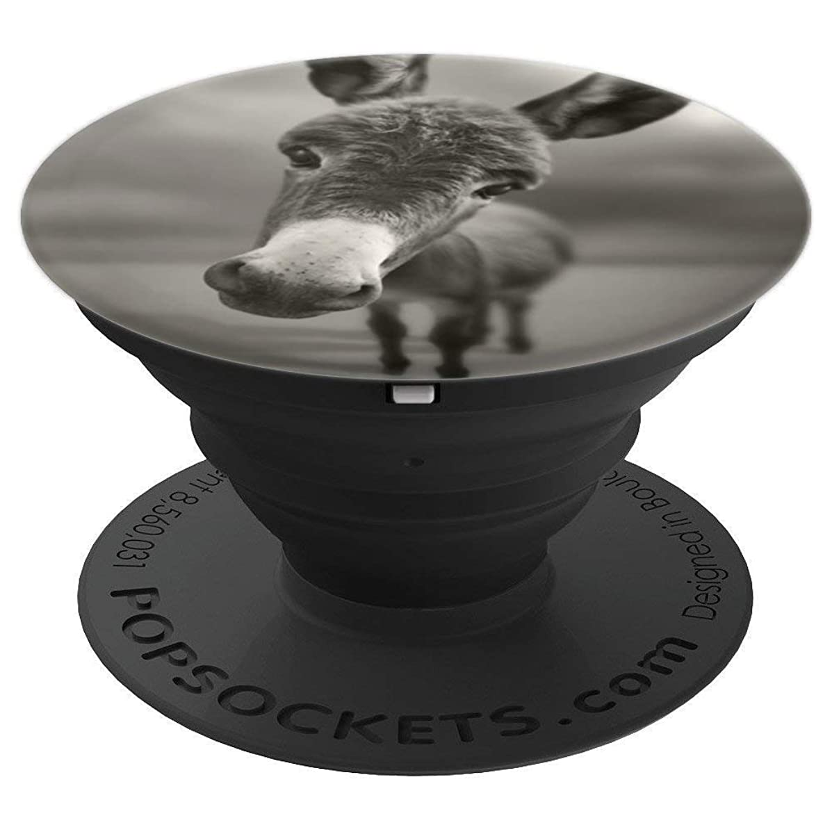 Pop Socket Popsockets Funny Cute Donkey Face Mount Holder - PopSockets Grip and Stand for Phones and Tablets