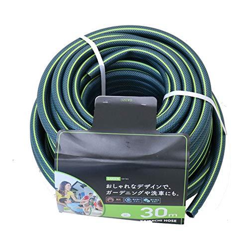 カクイチ 散水用ホース GARDEN グリーン+ライムグリーンライン 内径15mm 30M G432C 892576