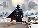 Star Wars Photo Wallpaper Darth Vader Kids Children Bedroom Wall Mural (144x100in - 366x254cm) Paste Included Wall Decoration Paper Poster Teen's Boy's Room Large Size