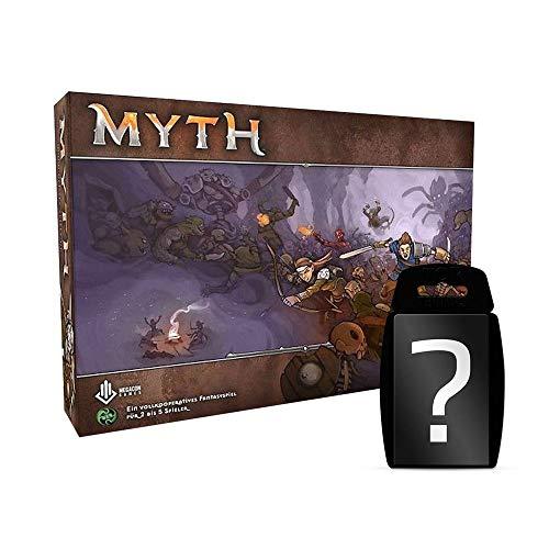 yvolve Myth - Grundspiel - Basisspiel Brettspiel Deutsch | DEUTSCH | Set inkl. Kartenspiel