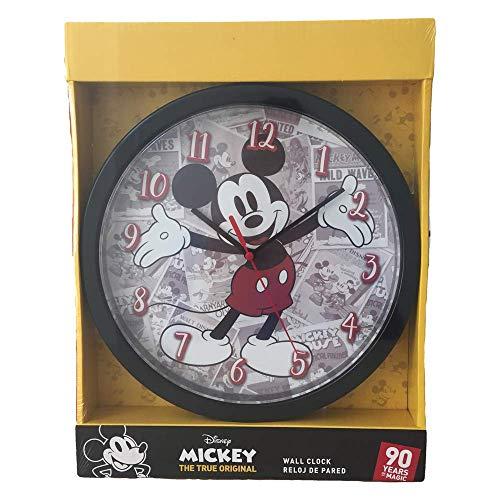 Mickey Mouse Reloj de Pared, Multicolor, Única