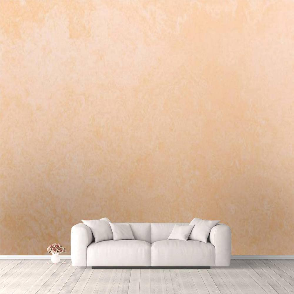 3D Wallpaper Cheap mail order specialty store Pastel Raleigh Mall Coral Peachy Background Concrete Ombr Grunge