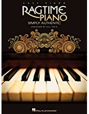 Ragtime Piano: Simply Authentic Ep Songbook (Easy Piano Songbook)