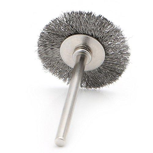 Stahl- / Kupferdraht-Werkzeug-Rad-Bürste Für Rotary Grinder Cleaner 26mm
