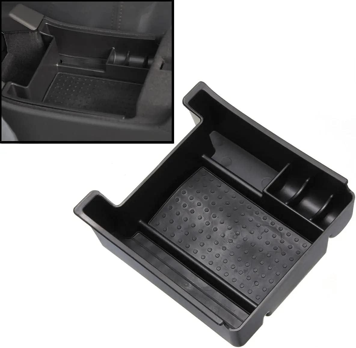 Caja portaobjetos reposabrazos de coche compatible con Volvo XC60 S60 V60 2011 – 2017 compartimento organizador secundario almacenamiento del reposabrazos Glove Box Storage