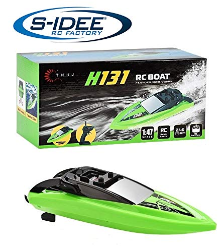 s-idee® H131 RC Boat ferngesteuertes Boot 2,4 GHz 10 km/h