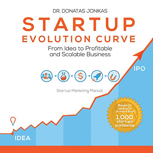Startup Evolution Curve audiobook cover art