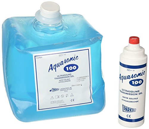 Parker 01–50 - Gel para ultrasonidos Aquasonic 100, recipiente de 5 litros