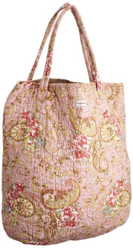 Ringarose Medium Shopper Paisley Rose -, Borsa tote donna
