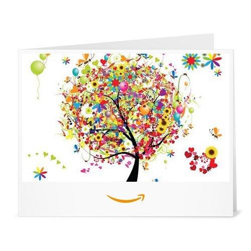 Amazon.de Gutschein zum Drucken (Geschenkbaum)