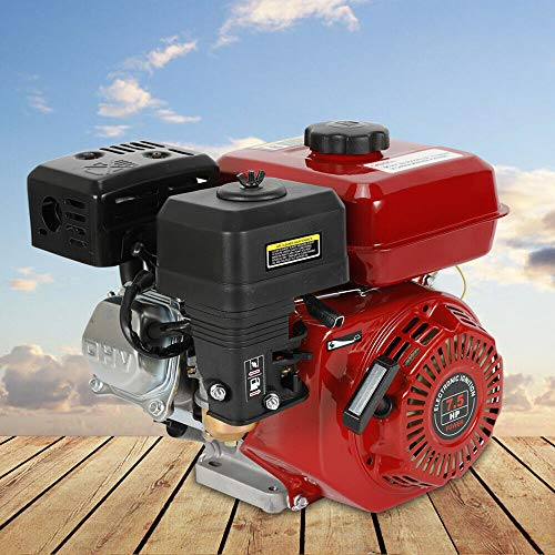 OUKANING Benzinmotor 6,5 PS (5,1 kW) 4-Takt Kartmotor Standmotor