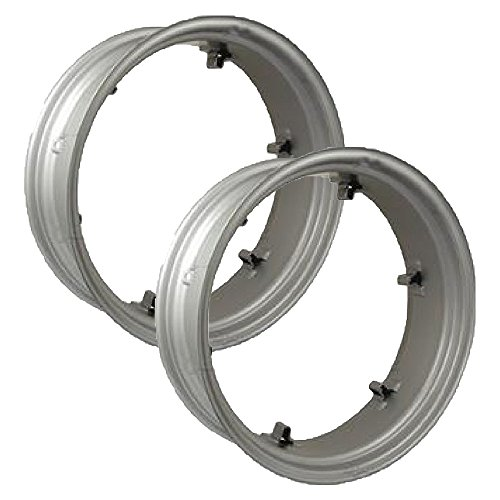 (2) RW09286 Aftermarket 6-Loop Wheel Rims Fits Ford/Fits New Holland