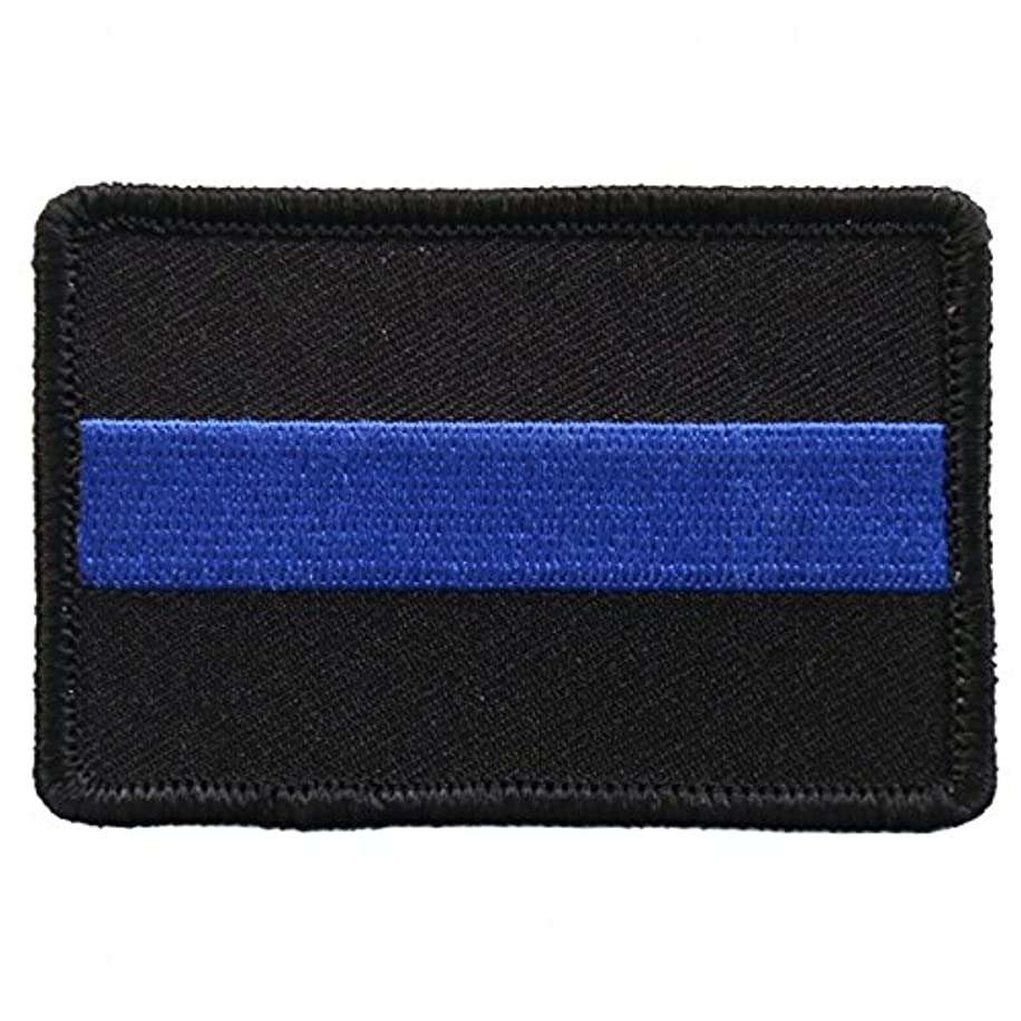 FALLEN OFFICER, High Thread Embroidered Iron-On / Saw-On, Heat Sealed Backing Rayon PATCH - 3