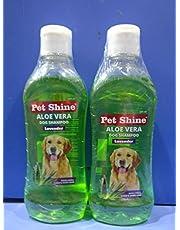 SKY EC Pet Shine Alovera Lavender Dog Shampoo - Set of 2