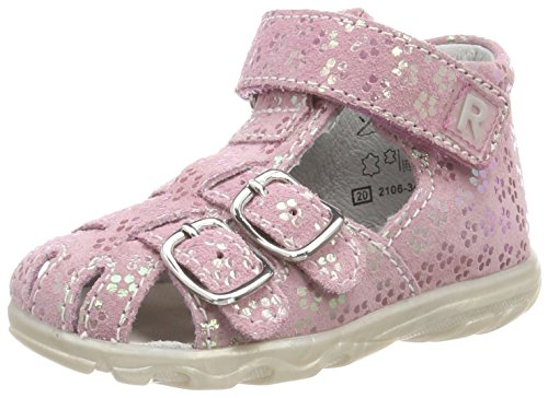 Richter Kinderschuhe Mädchen Terrino Geschlossene Sandalen , Pink (Candy) 23 EU