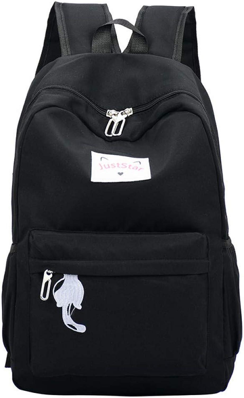 SGLOI Student backpack Women Backpack pink cartoon School Bags travel Backpack For Teenage Girls Waterproof Bookbag