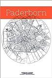 Poster 100 x 150 cm: Paderborn Karte Kreis von Campus