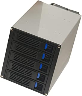 Baosity 3 x 5.25-Inch to 5 x 3.5-Inch Hot-swap SATA SAS Hard Disk Drive Cage