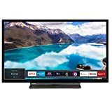 Toshiba 32LL3A63DB 32-Inch Smart Full-HD LED TV with Freeview Play - Black/Silver (2019 Model)