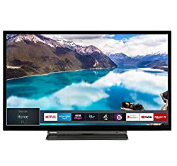 Full HD picture quality for pin-sharp image clarity and superb quality streaming. Never miss your favourite TV shows, music and film, with Amazon Prime Video, Amazon Prime Music, Netflix and Freeview Play. With Toshiba TV's you get all the top stream...