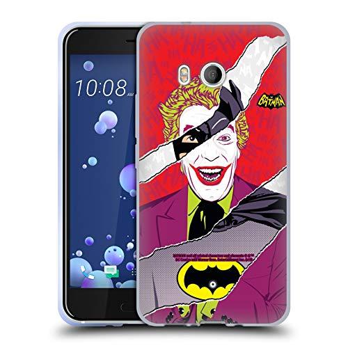 Head Case Designs sous Licence Officielle Batman TV Series Joker Graphiques Coque en Gel Doux Compatible avec HTC U11 / Dual