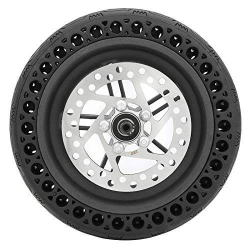 VGEBY Electric Scooter Rear Tire, 8.5in 120mm Electric Scooter Disc Brake Disc Rear Wheel with Back Wheel Hub