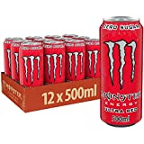 Monster Energy Ultra Red, 12er Pack (12 x 500 ml)