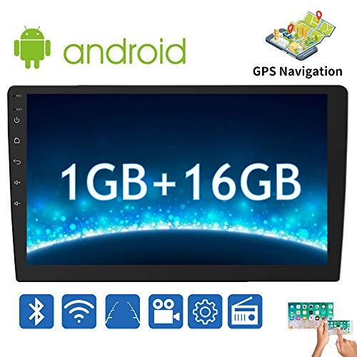 Radio coche 2 din, estéreo de Android para Toyota Corolla: pantalla táctil HD de 10 ', radio en el tablero de 1GB + 16GB con Bluetooth / AM / FM / RDS / USB / Wi-Fi /Enlace espejo