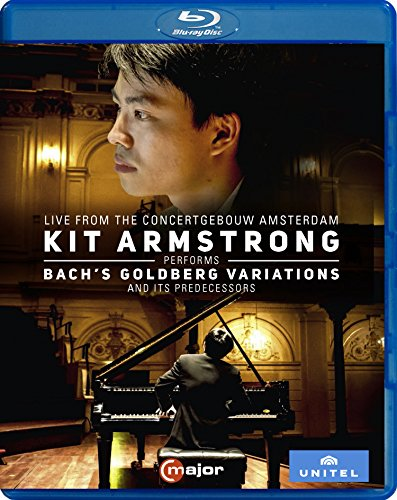 Kit Armstrong performs Bach´s Goldberg Variations (Concertgebouw, 2016) [Blu-ray]