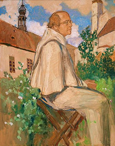 Imagekind Wall Art Print entitled Portrait Of The Geneticist Johann Gregor Mendel, 1 by The Fine Art Masters | 16 x 20