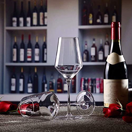400 ml Vino Tinto Copas de Cristal de Cristal Clara Libre de