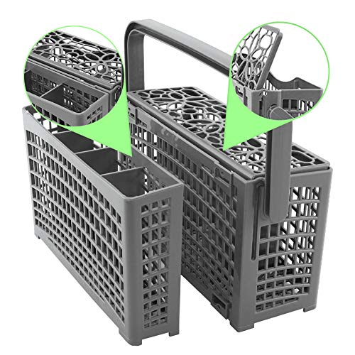 Noa Store Panier à ustensiles universel de rechange pour lave-vaisselle compatible avec Bosch/Maytag/Kenmore/Whirlpool/KitchenAid/LG/Samsung/Frigidaire/GE