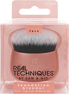 Real Techniques Makeup Blender Brush for Liquid Foundation, Versatile for Cream and..
