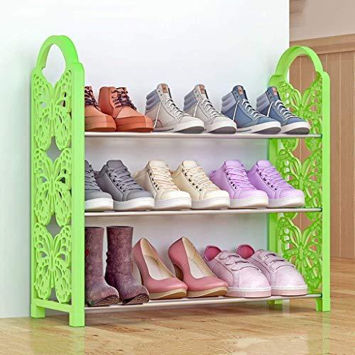 Zapatero Plástico Multicapa Dormitorio Simple Zapatero Almacenamiento para Dormitorio Gabinete de Zapatos a Prueba de Polvo Estantes para Zapatos Zapatero