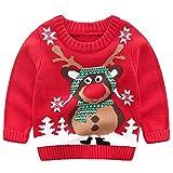 Mädchen Jungen Weihnachtspullover Rudolph
