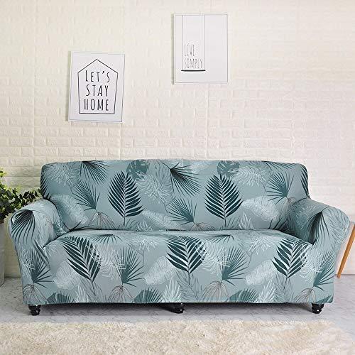 Funda de sofá elástica de algodón con Todo Incluido Funda de sofá para Sala de Estar Funda elástica en Forma de L Sofá de Esquina A20 de 4 plazas