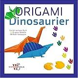 Origami für Kinder: Dinosaurier. 20 Anleitungen zum Origami Falten für Kinder inkl. Papier in einem Origami-Set. Mit praktischen Schritt-für-Schritt Anleitungen