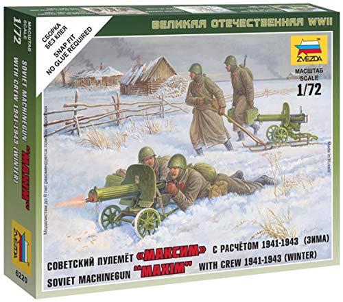 Zvezda - Z6220 - Mitrailleurs Soviétiques - Hiver